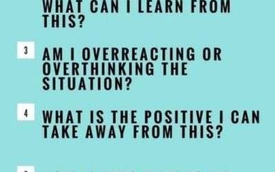 Staying Positive in Negative Situations