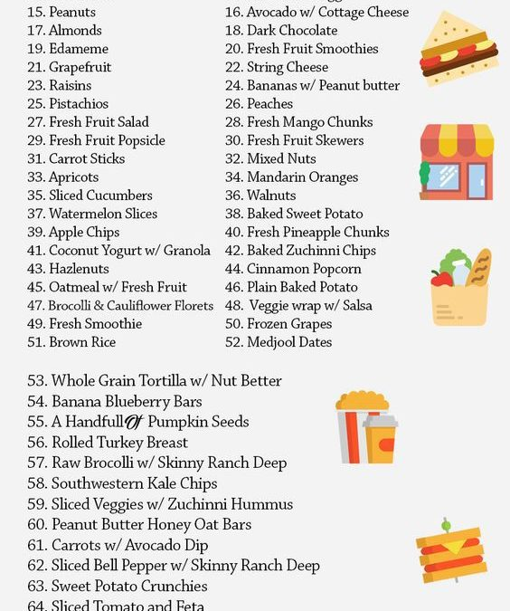 75 Yummy Snacks for Clean Eating