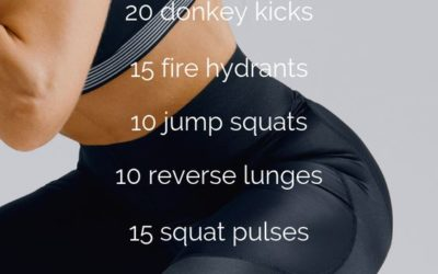 20 Minute Booty Builder Workout