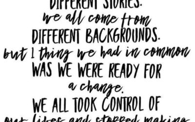 """We All Have Different Stories"" Quote"