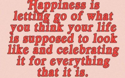 """Happiness Is Letting Go"" Quote"