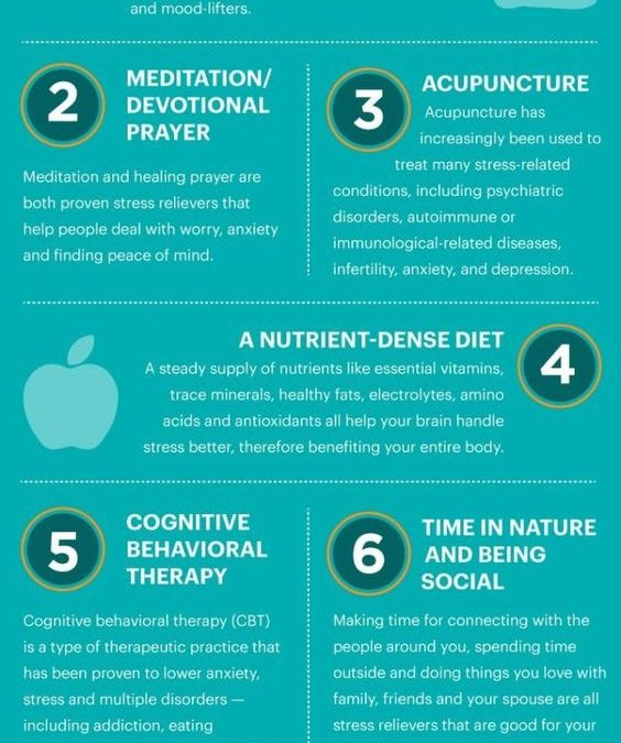 8 Natural Stress Relievers