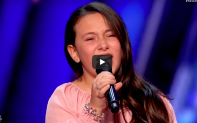 10-Year-Old Canadian Singer on America's Got Talent