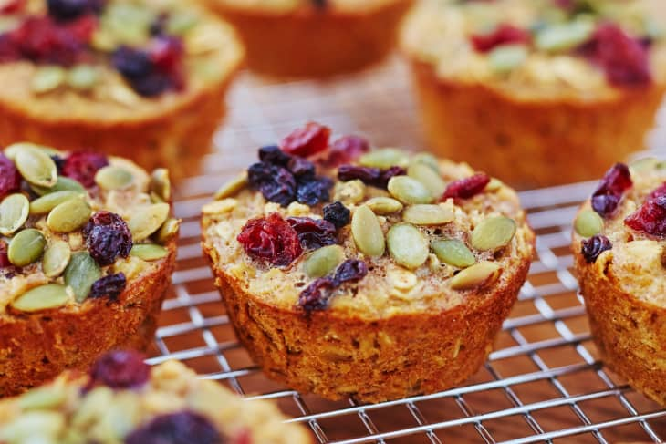 Tender Baked Oatmeal Cups