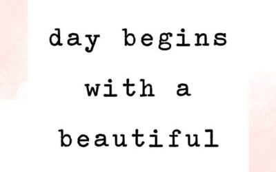 """""""A Beautiful Day"""" Quote"""