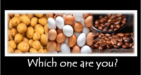 Potatoes, Eggs, and Coffee Beans – Short Story